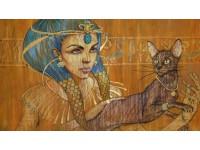 Кошки. История. Египет (Древний Египет)